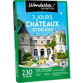 Wonderbox - 3 jours châteaux et délices