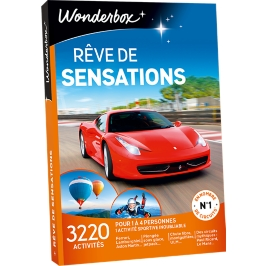 Wonderbox - Rêve de sensations