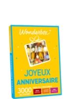 Wonderbox Joyeux Anniversaire