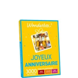 Wonderbox - Joyeux anniversaire