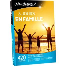 Wonderbox - 3 jours en famille