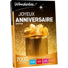 Wonderbox - Joyeux anniversaire Emotion
