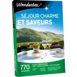 Wonderbox - Séjour charme et saveurs