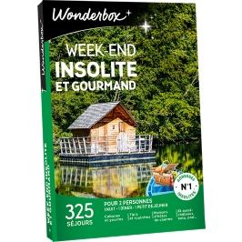 Wonderbox - Week-end insolite et gourmand