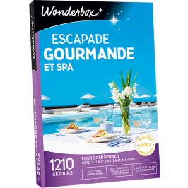 Wonderbox - Escapade gourmande et spa