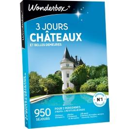 Wonderbox - 3 jours châteaux et  belles demeures