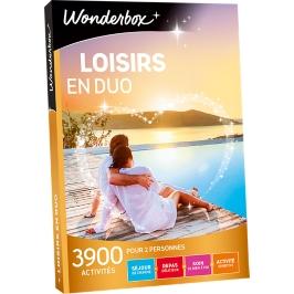 Wonderbox - Loisirs en duo