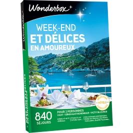 Wonderbox - Week-end et délices  en amoureux