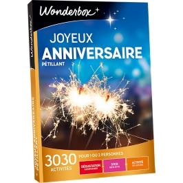 Wonderbox - Joyeux anniversaire Pétillant