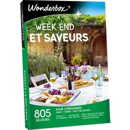 Wonderbox - Week-end et saveurs