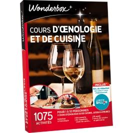 Wonderbox - Cours d'oenologie et de cuisine