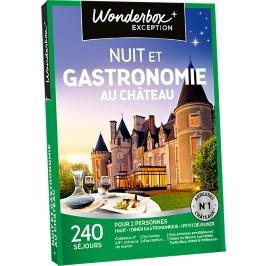 Wonderbox - Nuit et gastronomie au château