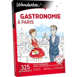 Wonderbox - Gastronomie à Paris