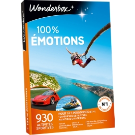 Wonderbox - 100% émotions