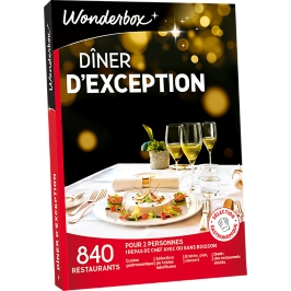 Wonderbox - Dîner d'exception