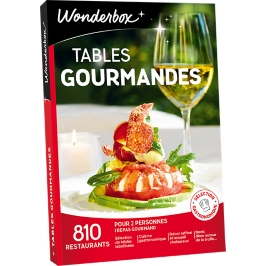 Wonderbox - Tables gourmandes