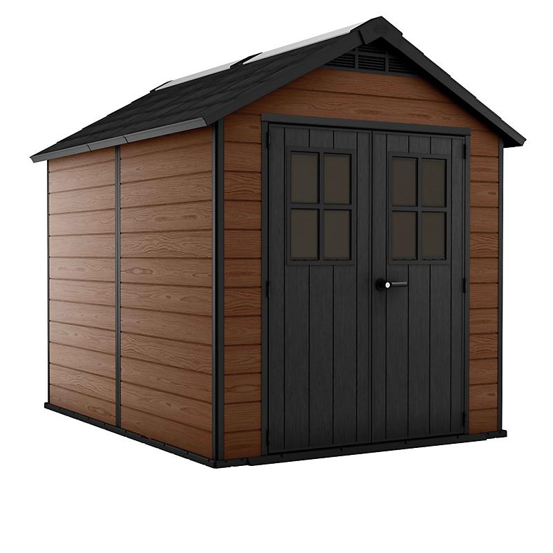 Abri de jardin résine 6 m² Woodium® 759