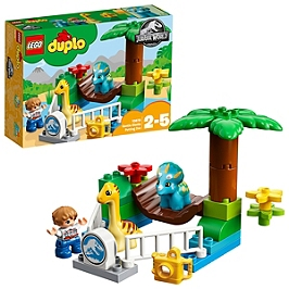 LEGO - Lego® Duplo® Jurassic World - Le Zoo Des Adorables Dinos - 10879 - 10879