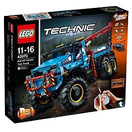 LEGO - Lego® Technic - La Dépanneuse Tout-Terrain 6X6 - 42070 - 42070