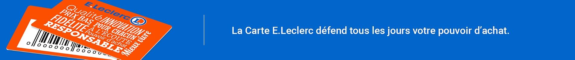Carte De Fidelite E Leclerc
