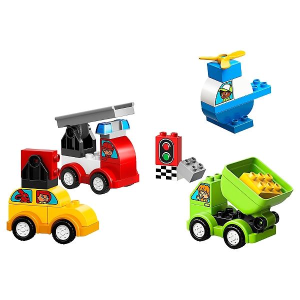 Lego Duplo Mes 1ers Pas Mes Premiers Vehicules 10886 Jouets Espace Culturel E Leclerc