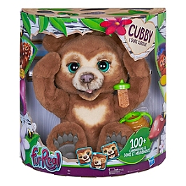 Furreal Friends - Peluche Interactive Cubby, L'ours Curieux - Hasbro - E4591