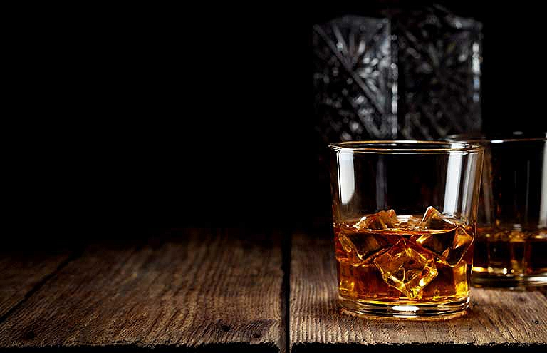 Calories whisky
