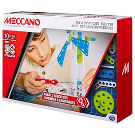 Set 3  Kit DInventions  Engrenages Meccano - N/A - 6047097