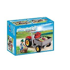 PLAYMOBIL - Fermier Avec Faucheuse - 6131
