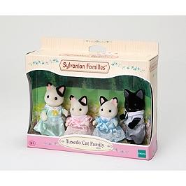 La Famille Chat Bicolore - Sylvanian Families - 5181