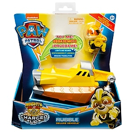 Vehicule + Figurine Ruben Mighty Pups Charged Up Paw Patrol (Solid)  - Paw Patrol - 6056874