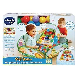 Ma Piscine A Balles Interactive Pop'balles - Na - 80-506205