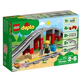 Lego® Duplo® Ma Ville - Les Rails Et Le Pont Du Train - 10872 - 10872