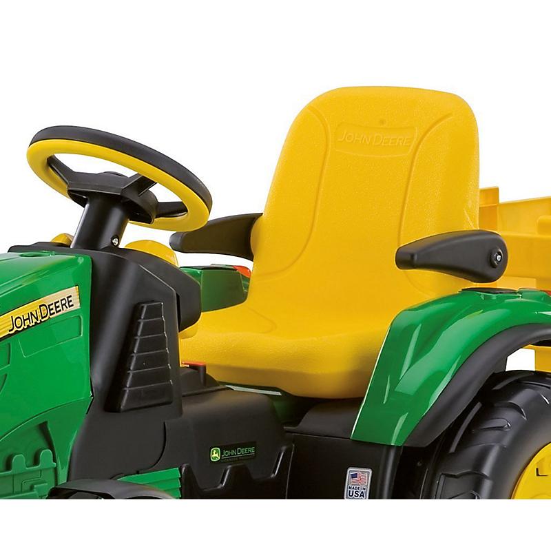 """Tracteur électrique 12 V JOHN DEERE """"GROUND FORCE"""""""