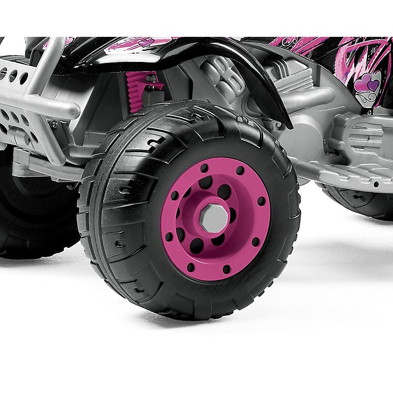 Quad électrique enfant T-REX Rose 12 V - PEG PERERO