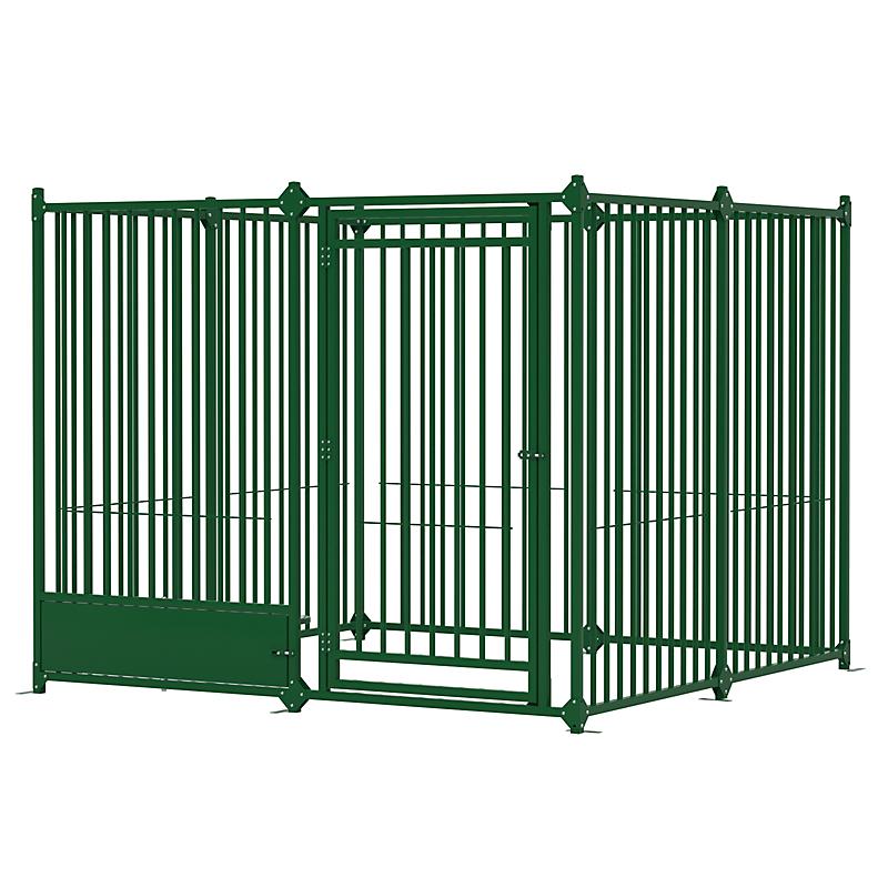 Enclos pour chien 2 x 2 m Vert
