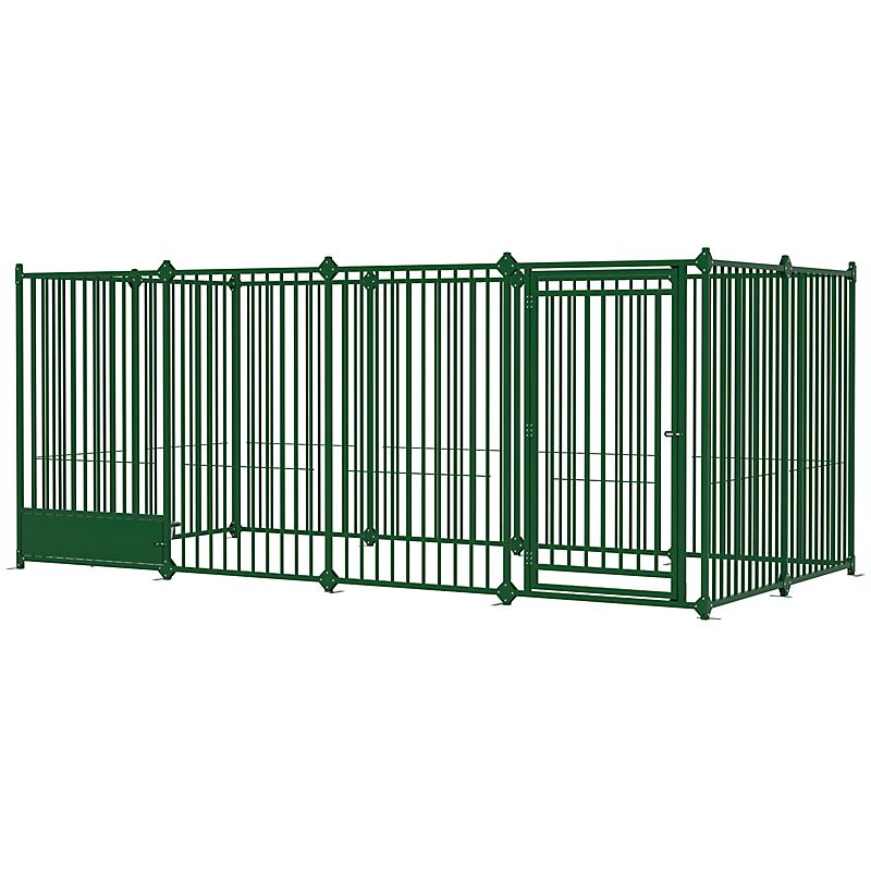 Enclos pour chien Pen 4 x 2 m Vert