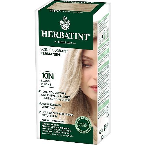 Soin colorant permanent aux 8 extraits végétaux 150ml- couleur blond