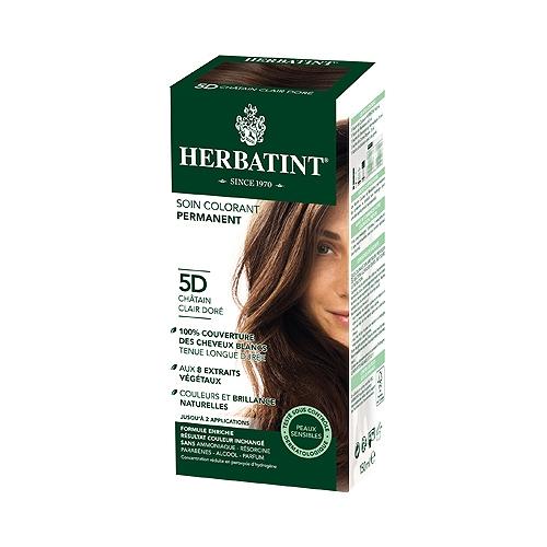 5d herbatint châtain clair doré - 150 ml