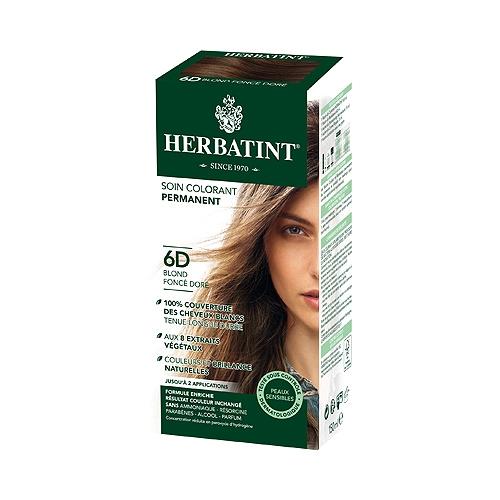 6d herbatint blond foncé doré - 150 ml