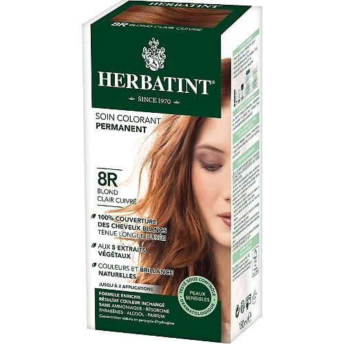 Soin colorant permanent - couleur : blond cuivré  150ml