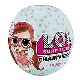 L.O.L. Surprise - #Hairvibes - Modèle Aléatoire. En Présentoir 12Pcs - Aucune - LLUB6