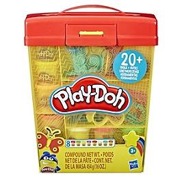 Play-Doh  Super Boite À Accessoires Et 5 Pots De Pate À Modeler De 56G Chacun - Play-Doh - E90995L0