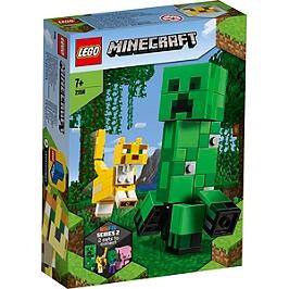 Lego® Minecraft - Bigfigurine Creeper Et Ocelot - 21156 - 21156