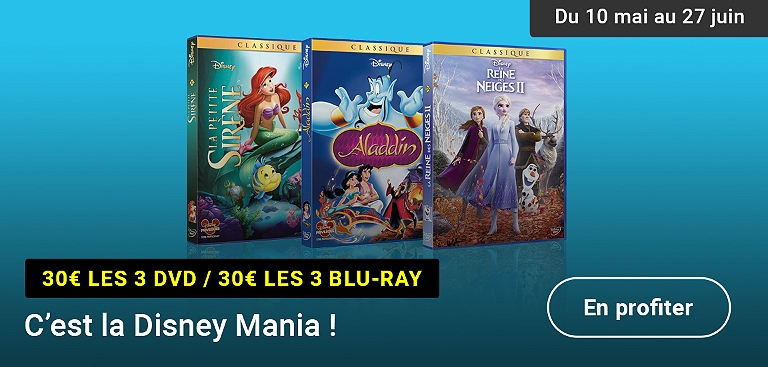 Promotion Disney DVD et Blu-ray