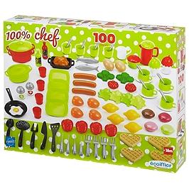 Boite Dinette 100 Pieces - 2659