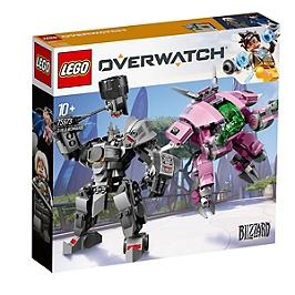 Lego® Overwatch - D.Va Et Reinhardt - 75973 - 75973