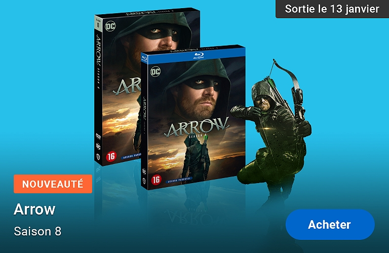 Arrow saison 8 DVD Blu-ray