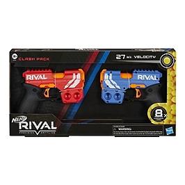 Nerf Rival Clash Pack De 2 Et Billes En Mousse Nerf Rival Officielles - Nerf - E8764FR20