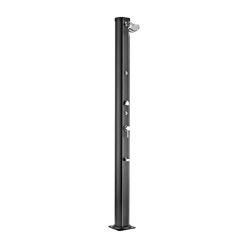 Douche solaire aluminium noir 32 L